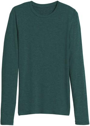 Banana Republic Rayon-Wool Crew-Neck T-Shirt
