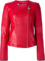 Philipp Plein 'First Road' biker jacket