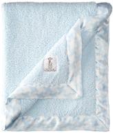 Little Giraffe Chenille Houndstooth Blanket