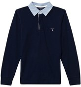 Gant Navy Sweatshirt with collar