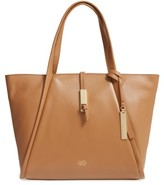 Vince Camuto Reed Small Leather Tote - Brown
