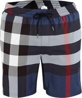 Burberry Check Drawcord Swim Shorts