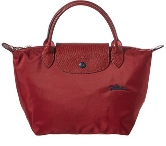 Longchamp Le Pliage Club Small Nylon Top Handle Tote