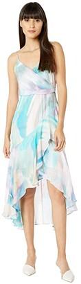Parker Denver Dress (Pastel Swirl) Women's Clothing