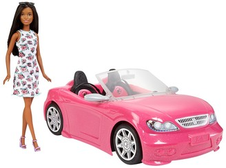 Mattel Barbie Doll and Vehicle