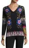 Etro Floral Silk Top