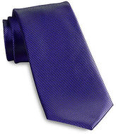 Synrgy Textured Solid Stain-Resistant Tie Casual Male XL Big & Tall