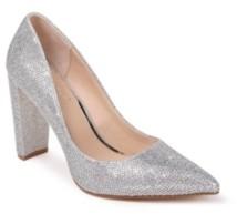 Badgley Mischka Rumor Ii Block Heel Pumps Women's Shoes
