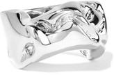 Jennifer Fisher Bow Silver-Plated Ring