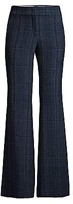 Piazza Sempione Women's Plaid Flared Pants