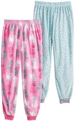 Cuddl Duds Girls 7-16 2-Pack Pajama Pants Set