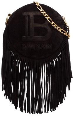 Balmain Disco fringed crossbody bag