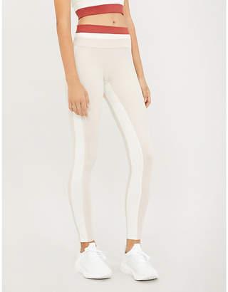 Vaara Flo Tuxedo stretch-jersey leggings