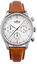 Fortis Men's 904.21.12 L.08 Tycoon Chronograph A.M. Analog Display Automatic Self Wind Brown Watch