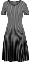Tomas Maier Striped Knitted Dress