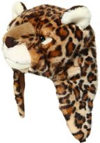 Dolce & Gabbana Large Leopard Plush & Fleece Hat