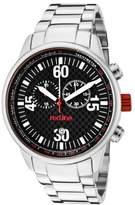 Redline Red Line RL-10124 Watch Men – Quartz – Analogue – Stainless Steel Bracelet, Grey