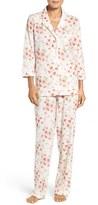 Lauren Ralph Lauren Petite Women's Floral Print Cotton Pajamas