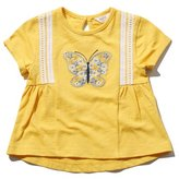 M&Co Butterfly embroidered t-shirt