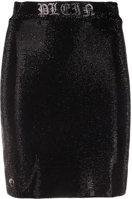 Philipp Plein Gothic Plein mini skirt