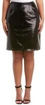 BB Dakota Plus Lomard Midi Skirt.