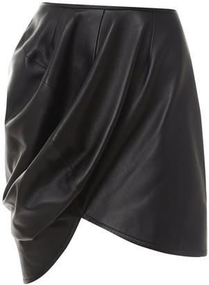 MM6 MAISON MARGIELA High-Waisted Asymmetric Skirt
