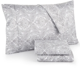 Sunham Caprice Paisley California King 4-Pc Sheet Set, 350 Thread Count