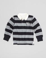 Burberry Boys' Rugby Polo Shirt, Navy, 4Y-10Y