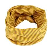 ABC® 1099 ABC® Children Scarf, Winter Baby Kids Neck Warmer Colors Stitching O-ring Scarf Knit Woolen Scarf