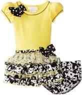Bonnie Baby Baby Girls' Dropwaist Tiers Dress