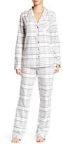 Shimera Trim Flannel PJ Set