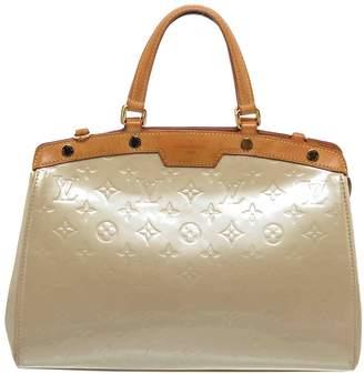Louis Vuitton Brea Beige Patent leather Handbags