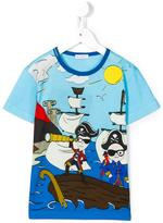 Dolce & Gabbana 'Junior Sailors' T-shirt - kids - Cotton - 10 yrs