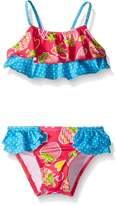 Pink Platinum Baby Strawberry and Heart Bikini