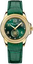 Thomas Sabo Women`s glam chic green gold watch