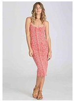 Billabong Juniors Right Around Midi Dress with Cut-Out Back