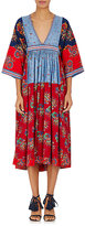 Ulla Johnson Women's Milena Cotton-Linen Maxi Dress