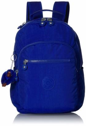 Kipling Seoul Go Small Padded Adjustable Backpack Straps Zip Closure