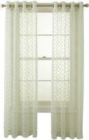 Royal Velvet Toretta Grommet-Top Curtain Panel