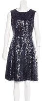 Kate Spade Sleeveless Sequin-Embellished Dress w/ Tags
