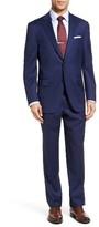 Peter Millar Men's Classic Fit Windowpane Wool Suit