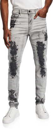 Diesel Men's D-Amny Skinny Jeans with Shading