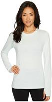 New Balance Heather Tech Long Sleeve Top Women's Long Sleeve Pullover