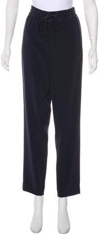 DKNY High-Rise Straight-Leg Pants