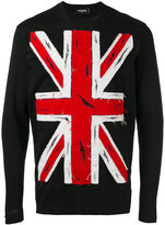 DSQUARED2 union jack sweatshirt