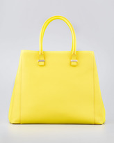 Victoria Beckham Liberty Soft Leather Tote, Yellow