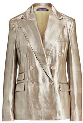 Ralph Lauren Elias Windowpane-Print Jacket