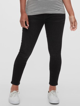 Gap Maternity True Waist Full Panel True Skinny Jeans