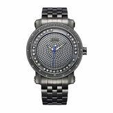 JBW Men's Hendrix 0.20 ctw Diamond Black Ion-Plated Stainless Steel Watch J6338C