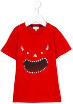 Paul Smith monster print T-shirt - kids - Cotton - 4 yrs